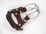 Leather Stallion Guard Cage