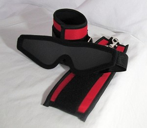 Soft Cuff w/ Slim Blindfold Set